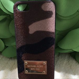 Michael Kors iPhone case for 5/5S phone NWOT